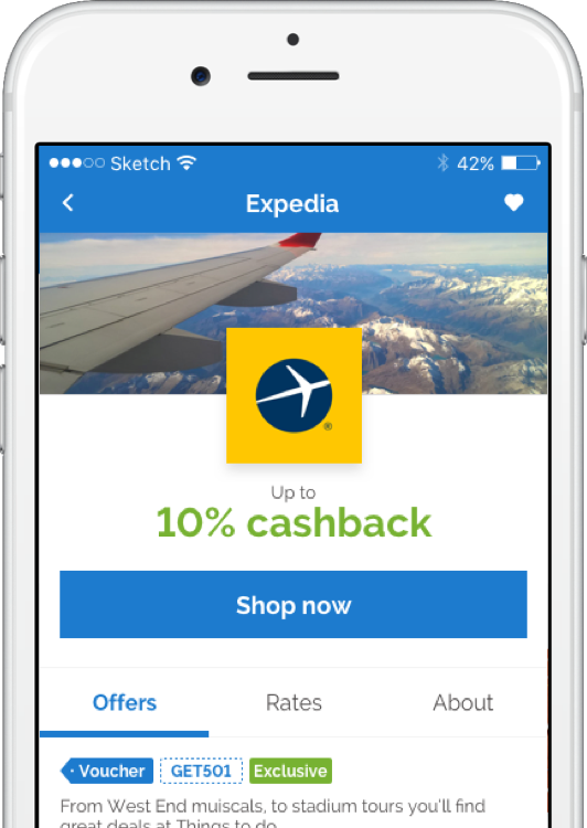 Activate exclusive and personalised In-store cashback offers